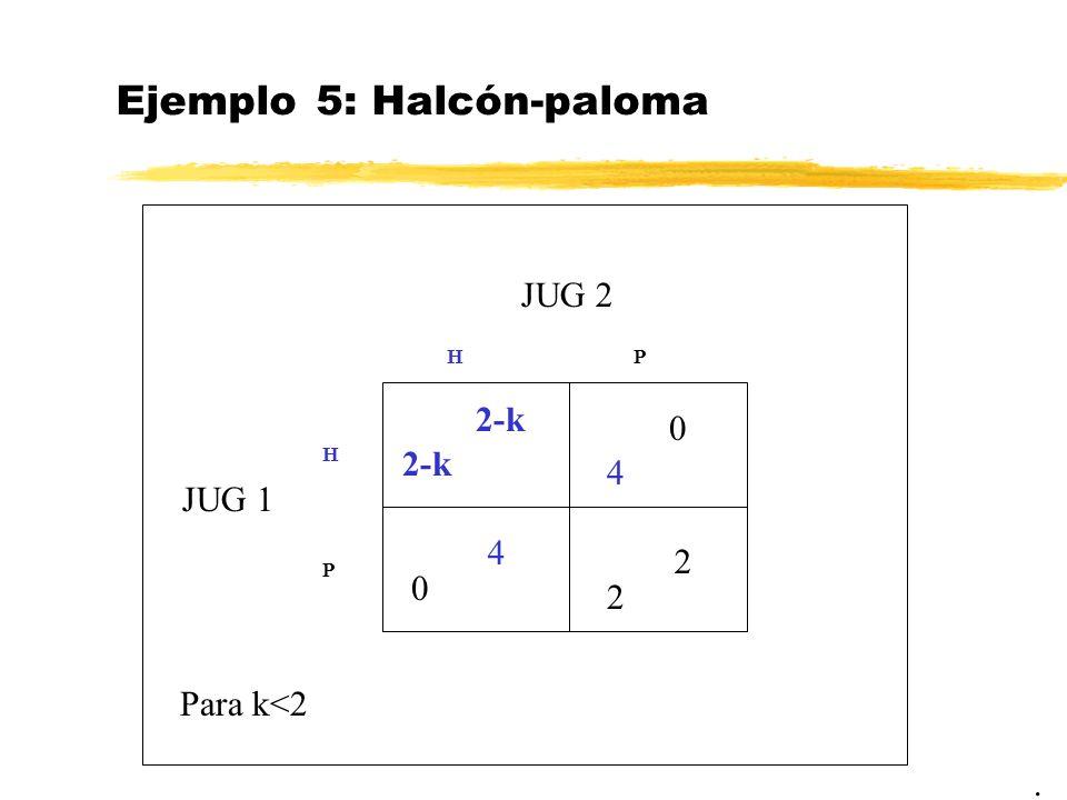 Ejemplo 5: Halcón-paloma