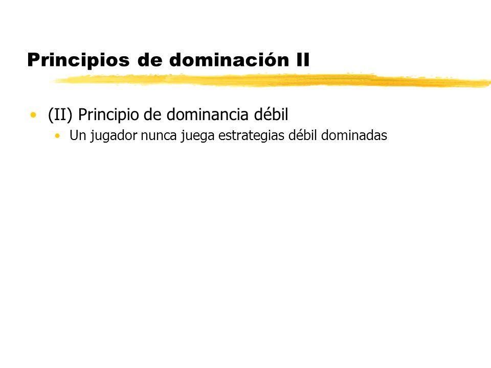 Principios de dominación II