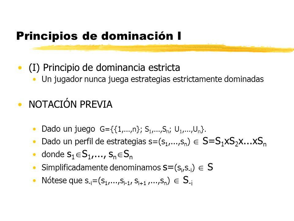 Principios de dominación I
