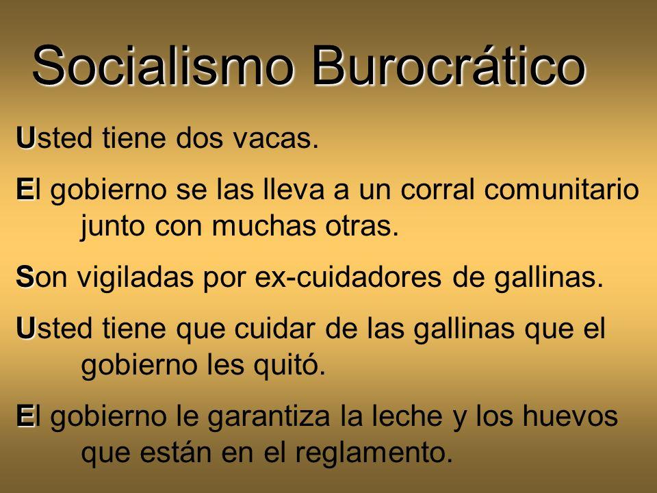 Socialismo Burocrático