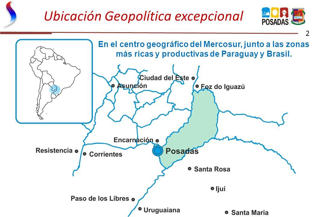 Ubicación Geopolítica excepcional