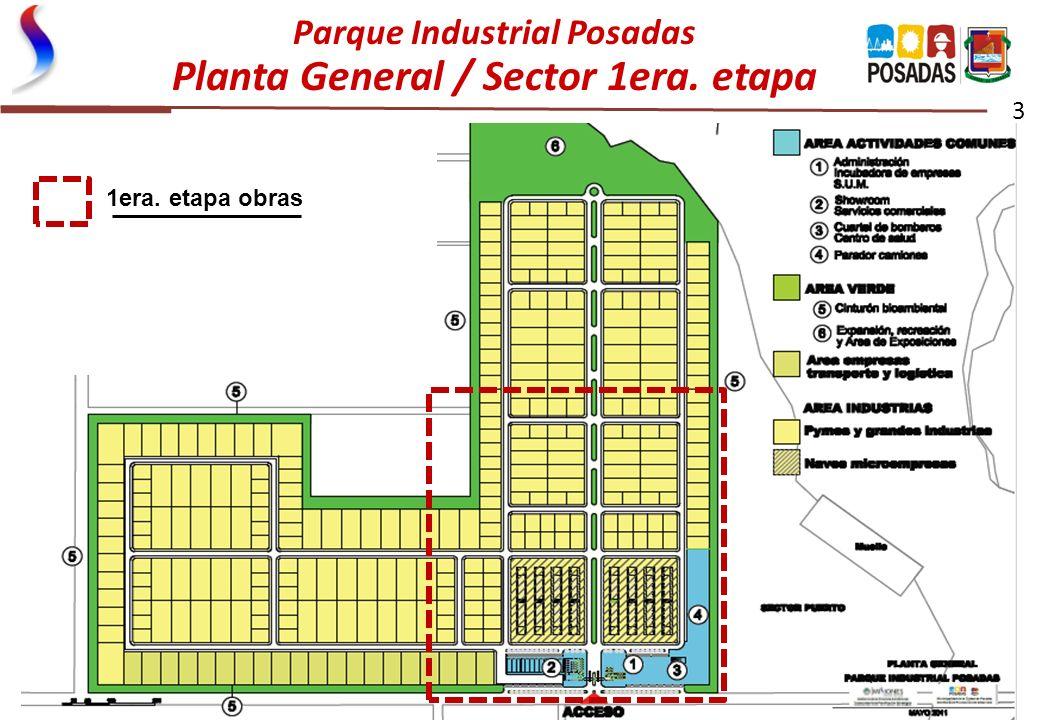 Parque Industrial Posadas Planta General / Sector 1era. etapa