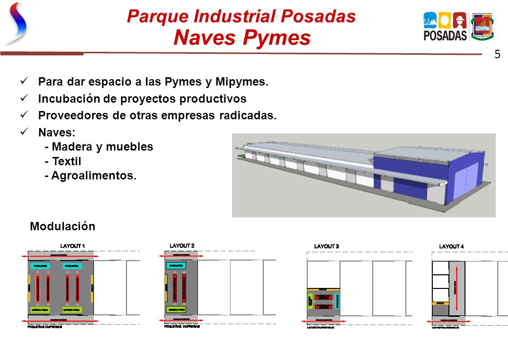 Parque Industrial Posadas Naves Pymes