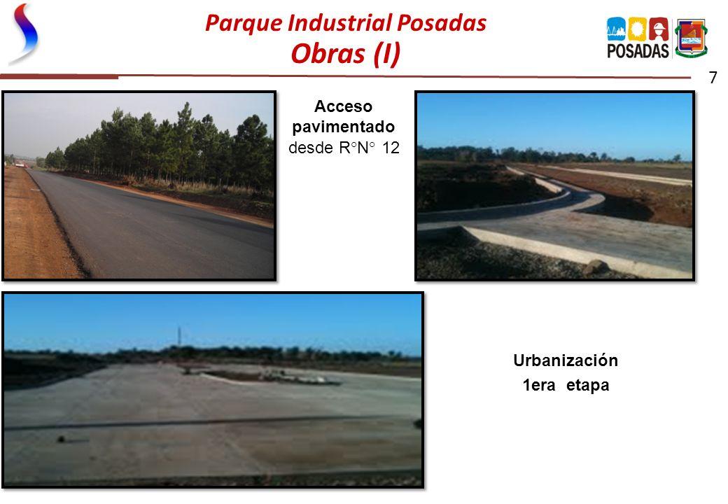 Parque Industrial Posadas Obras (I)