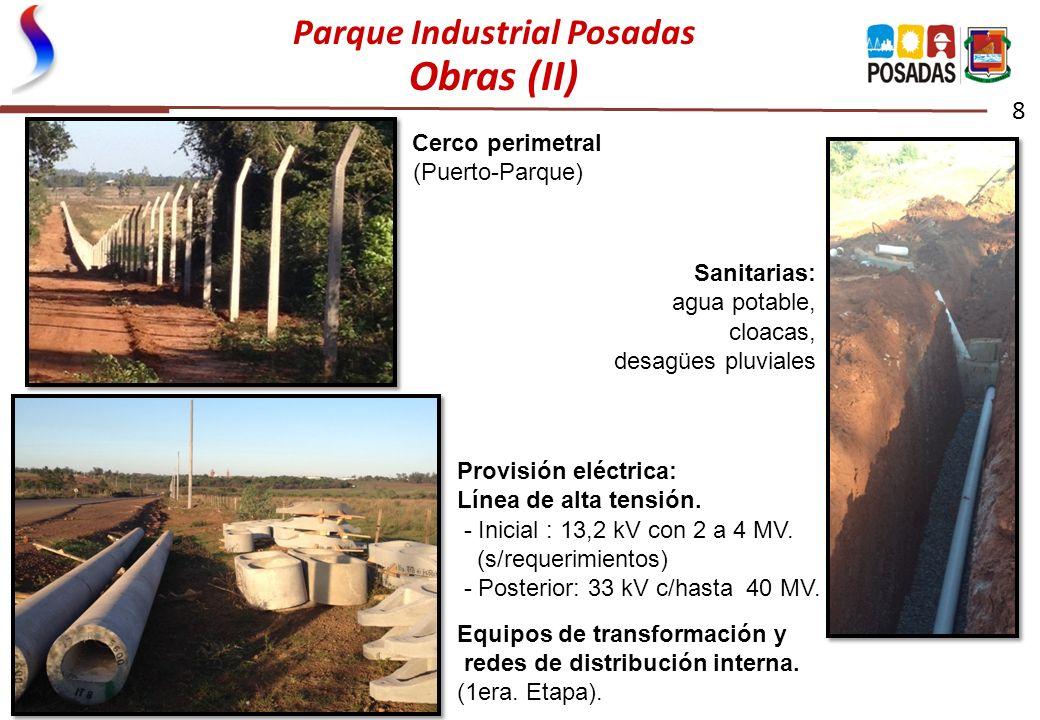 Parque Industrial Posadas Obras (II)