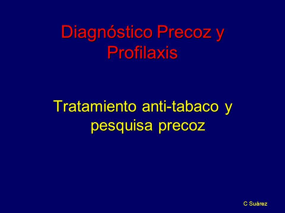 Diagnóstico Precoz y Profilaxis