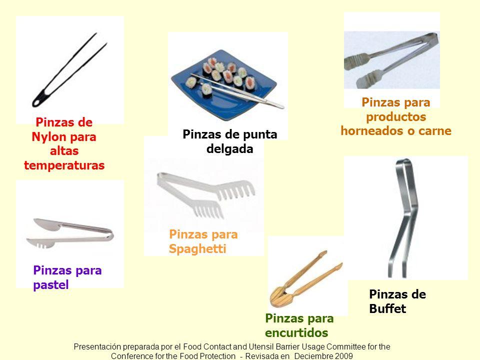 Pinzas para productos horneados o carne
