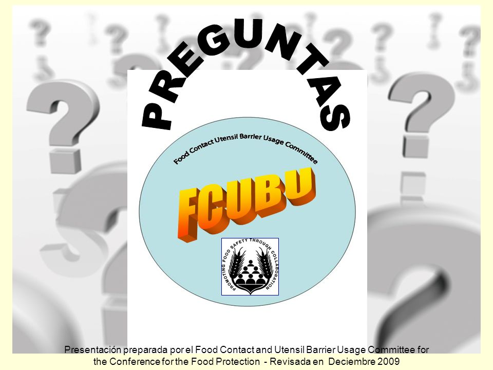 PREGUNTAS FCUBU.