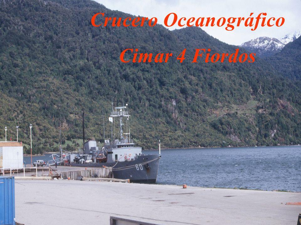 Crucero Oceanográfico