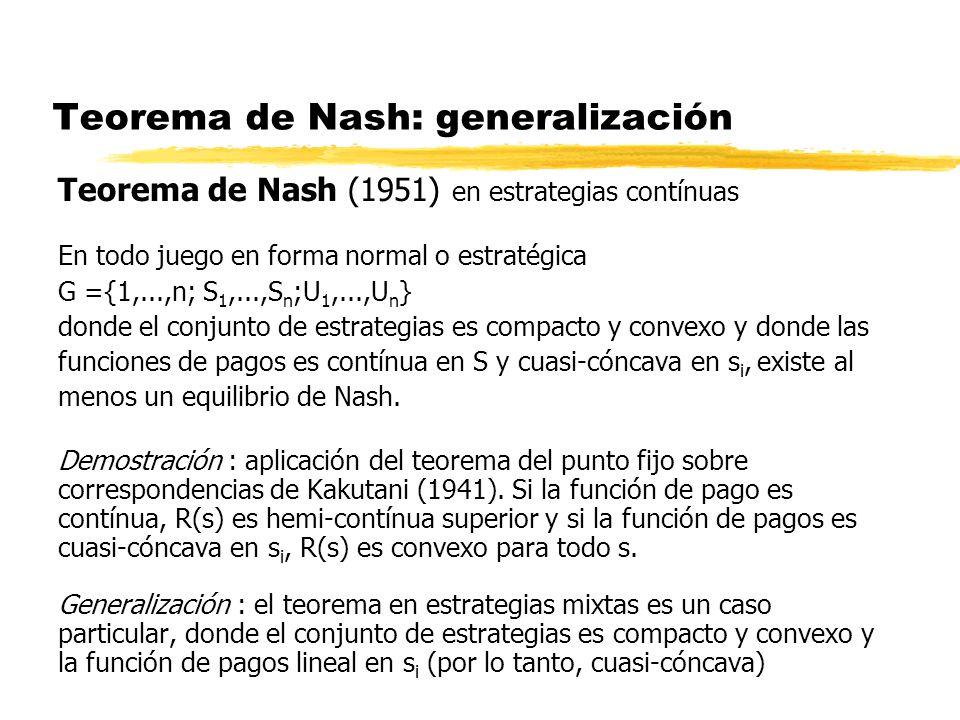 Teorema de Nash: generalización