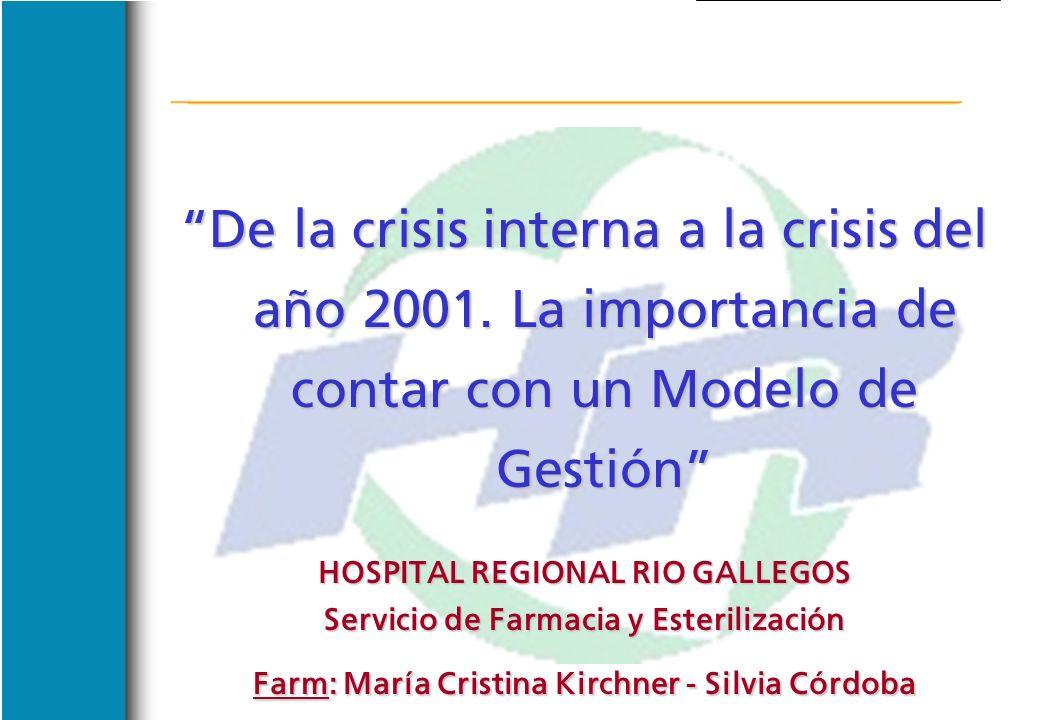 De la crisis interna a la crisis del año 2001