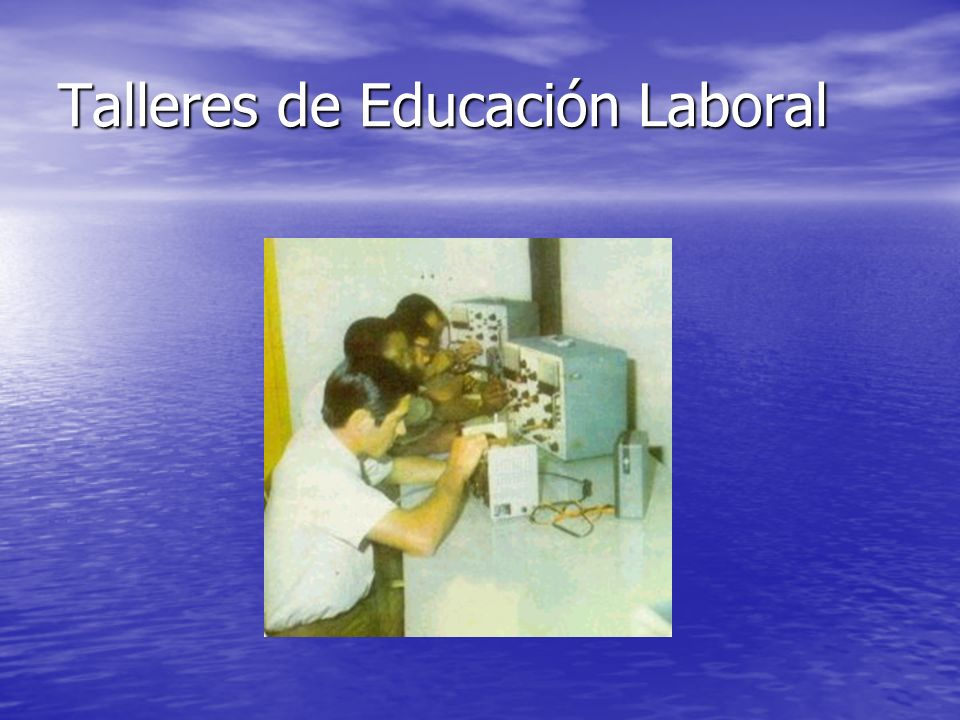 Talleres de Educación Laboral