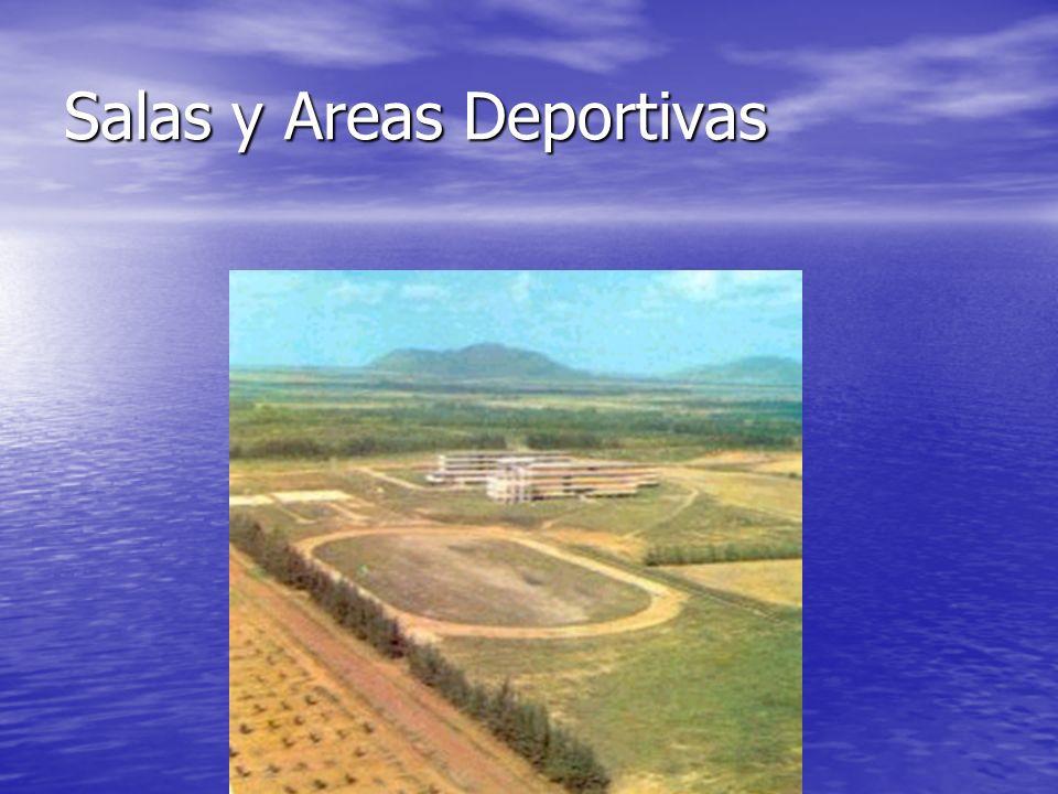 Salas y Areas Deportivas