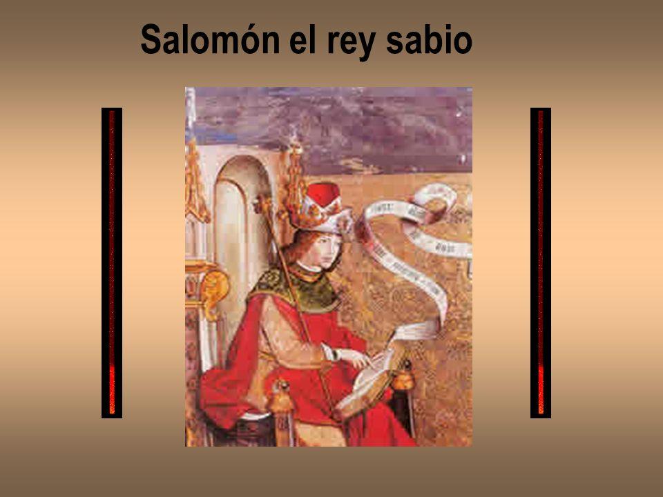 Salomón el rey sabio