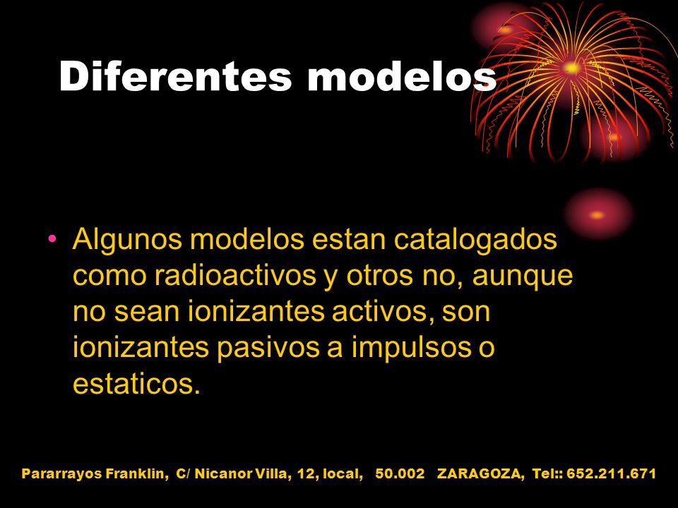 Diferentes modelos