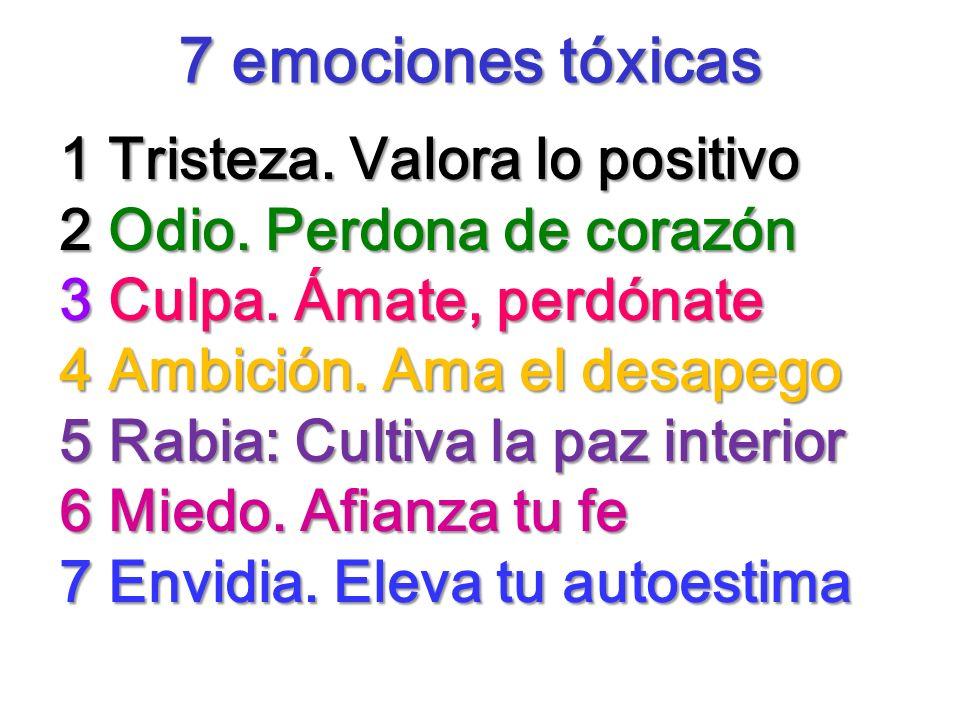 7 emociones tóxicas 1 Tristeza. Valora lo positivo