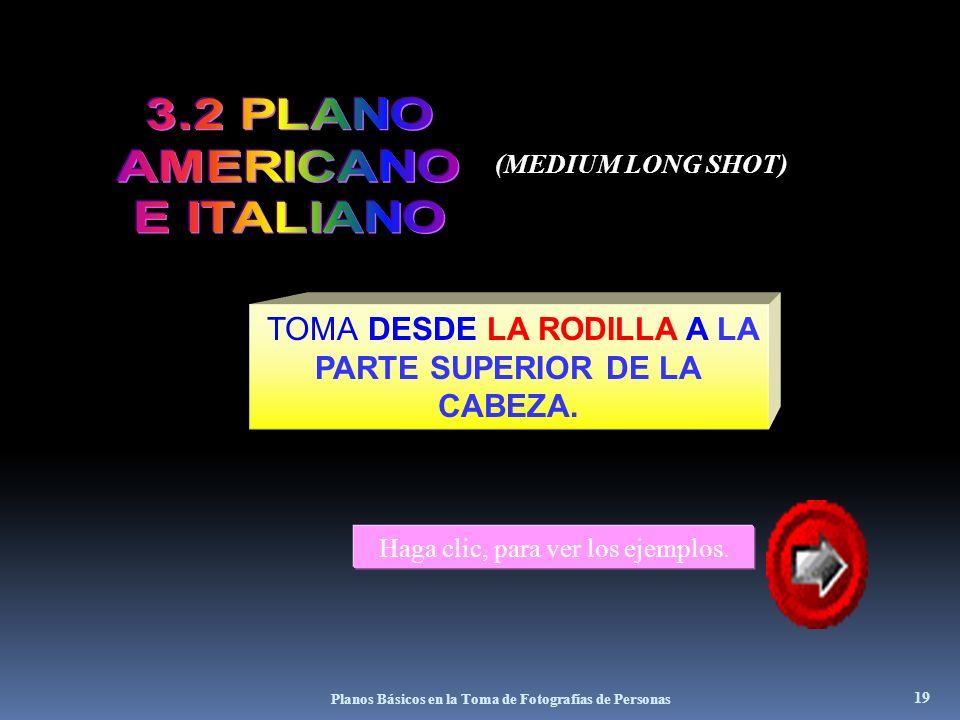 3.2 PLANO AMERICANO E ITALIANO