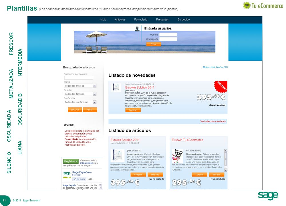 Plantillas FRESCOR INTERMEDIA METALIZADA OSCURIDAD B OSCURIDAD A LIANA
