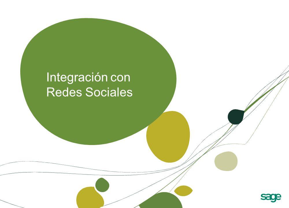 Integración con Redes Sociales