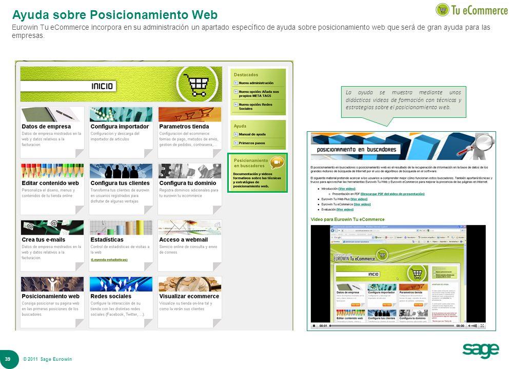 Ayuda sobre Posicionamiento Web