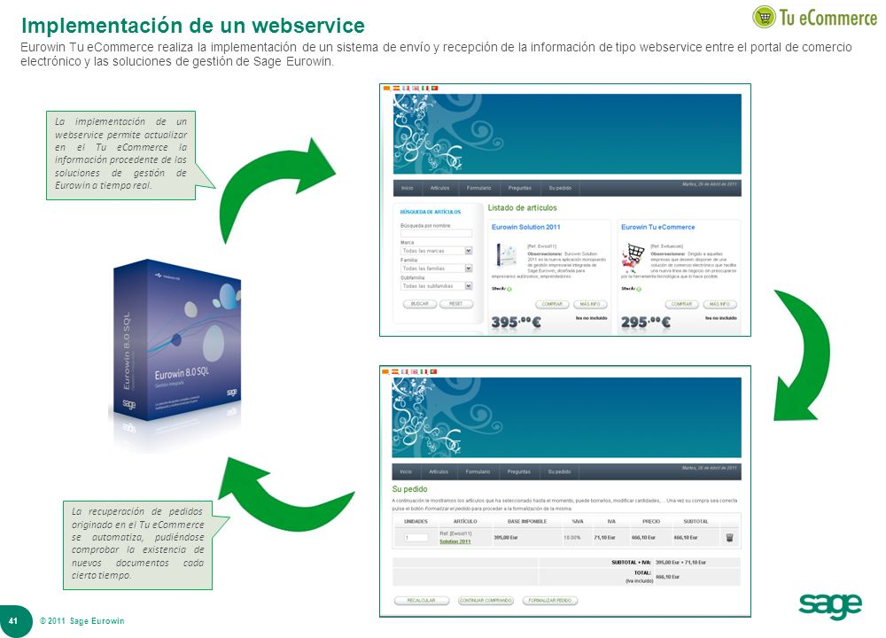 Implementación de un webservice