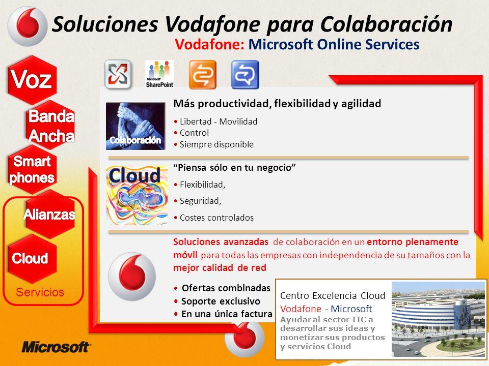 Vodafone: Microsoft Online Services