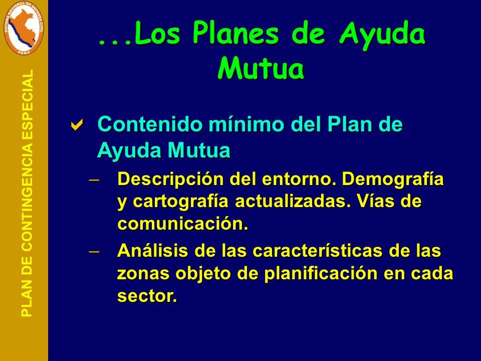 ...Los Planes de Ayuda Mutua