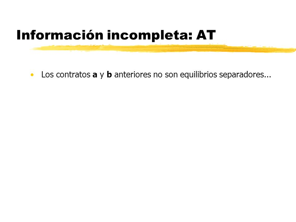 Información incompleta: AT