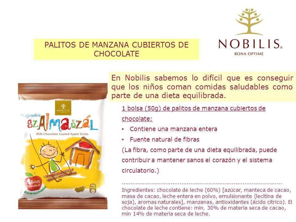 PALITOS DE MANZANA CUBIERTOS DE CHOCOLATE