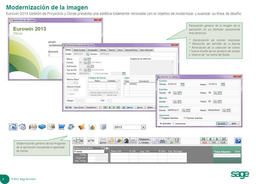 Modernización de la imagen