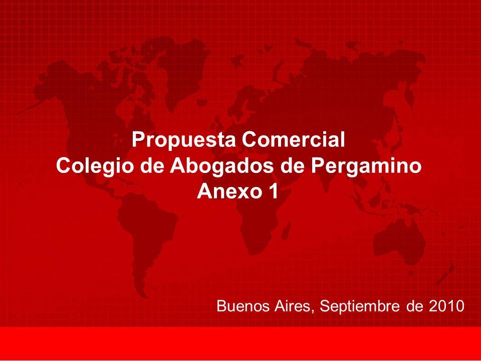 Propuesta Comercial Colegio de Abogados de Pergamino