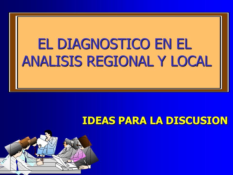 ANALISIS REGIONAL Y LOCAL