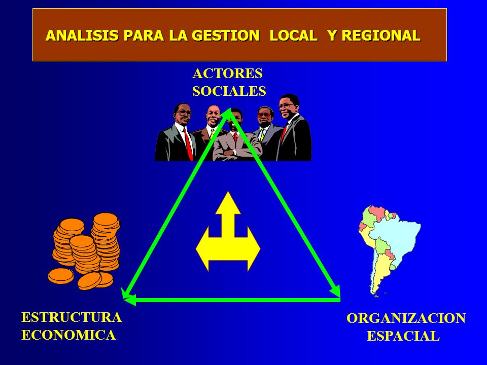 ANALISIS PARA LA GESTION LOCAL Y REGIONAL