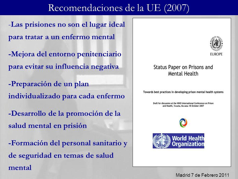 Recomendaciones de la UE (2007)