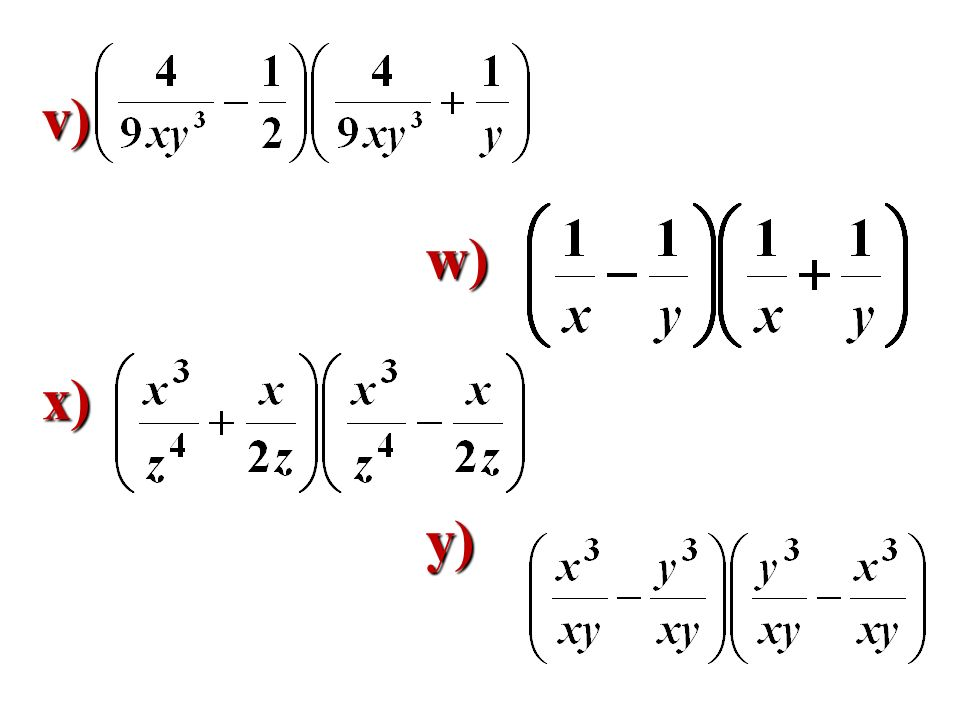 v) w) x) y)