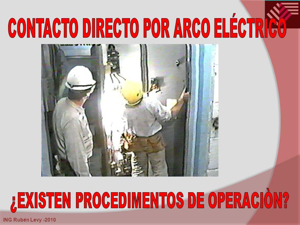 CONTACTO DIRECTO POR ARCO ELÉCTRICO