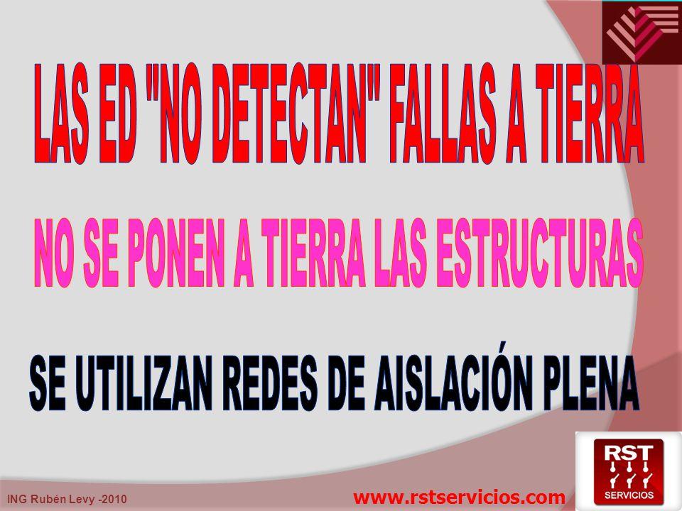 LAS ED NO DETECTAN FALLAS A TIERRA