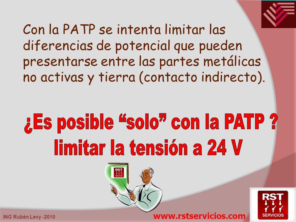 ¿Es posible solo con la PATP