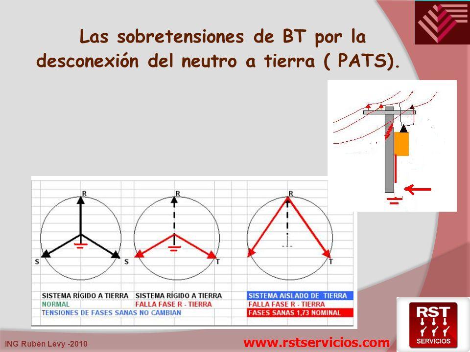 Las sobretensiones de BT por la desconexión del neutro a tierra ( PATS).