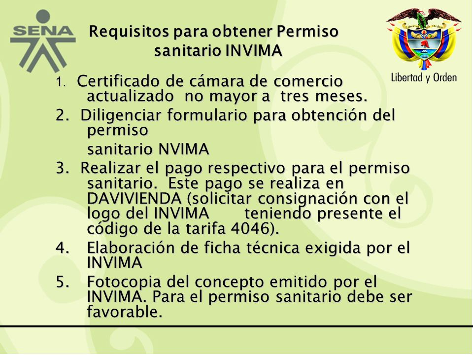 Requisitos para obtener Permiso