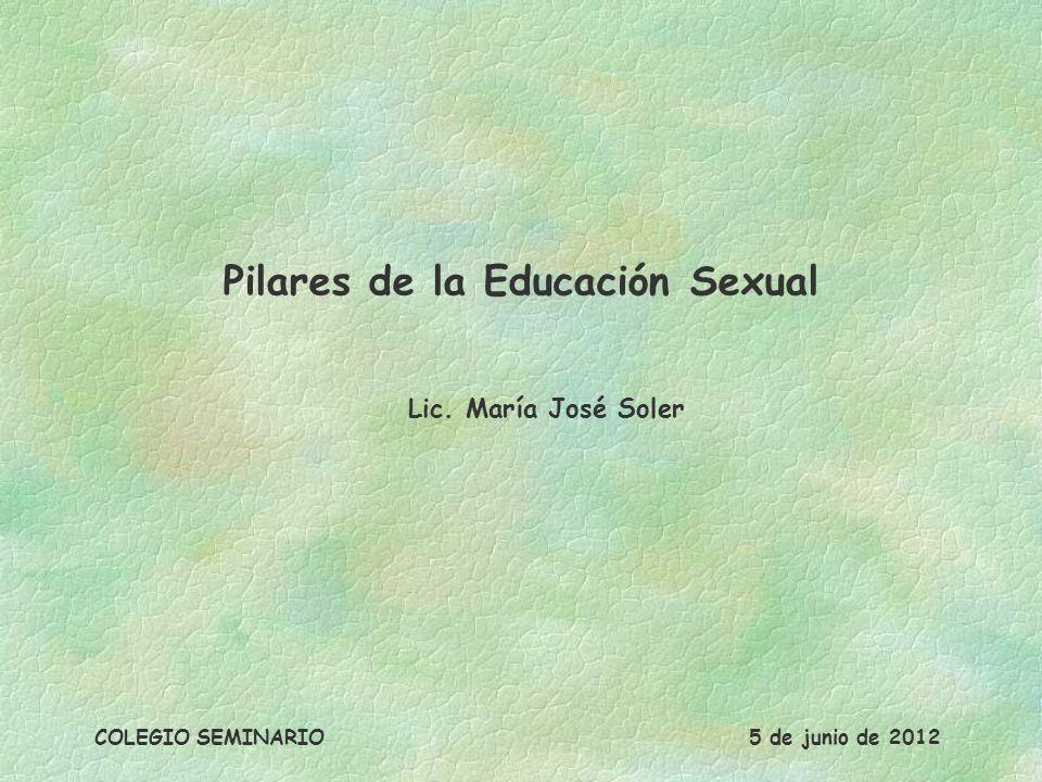 Pilares de la Educación Sexual