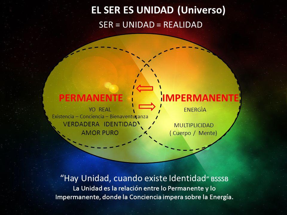 EL SER ES UNIDAD (Universo)