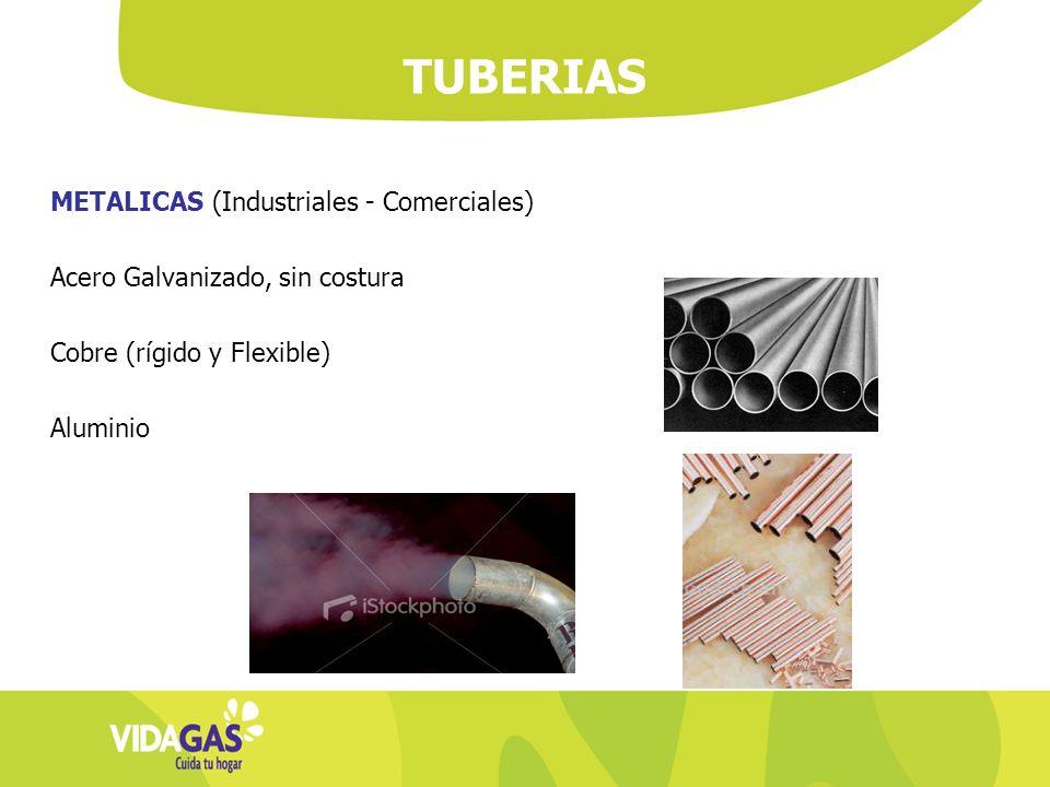 TUBERIAS METALICAS (Industriales - Comerciales)