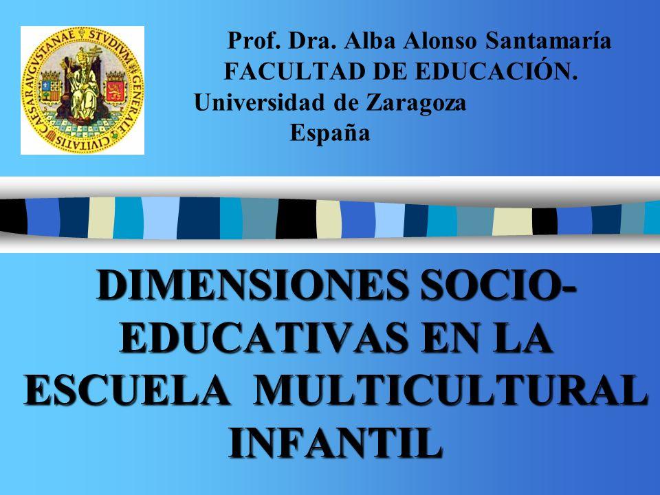 DIMENSIONES SOCIO- EDUCATIVAS EN LA ESCUELA MULTICULTURAL INFANTIL