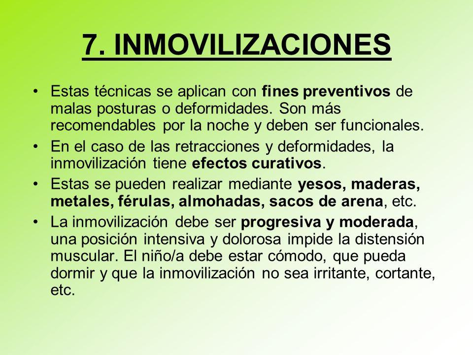 7. INMOVILIZACIONES