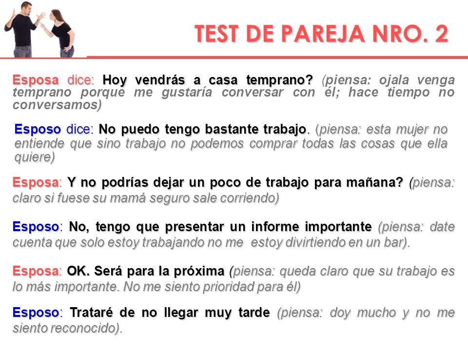 TEST DE PAREJA NRO. 2