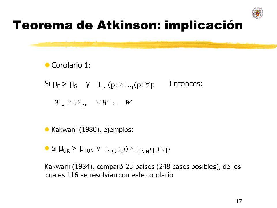 Teorema de Atkinson: implicación