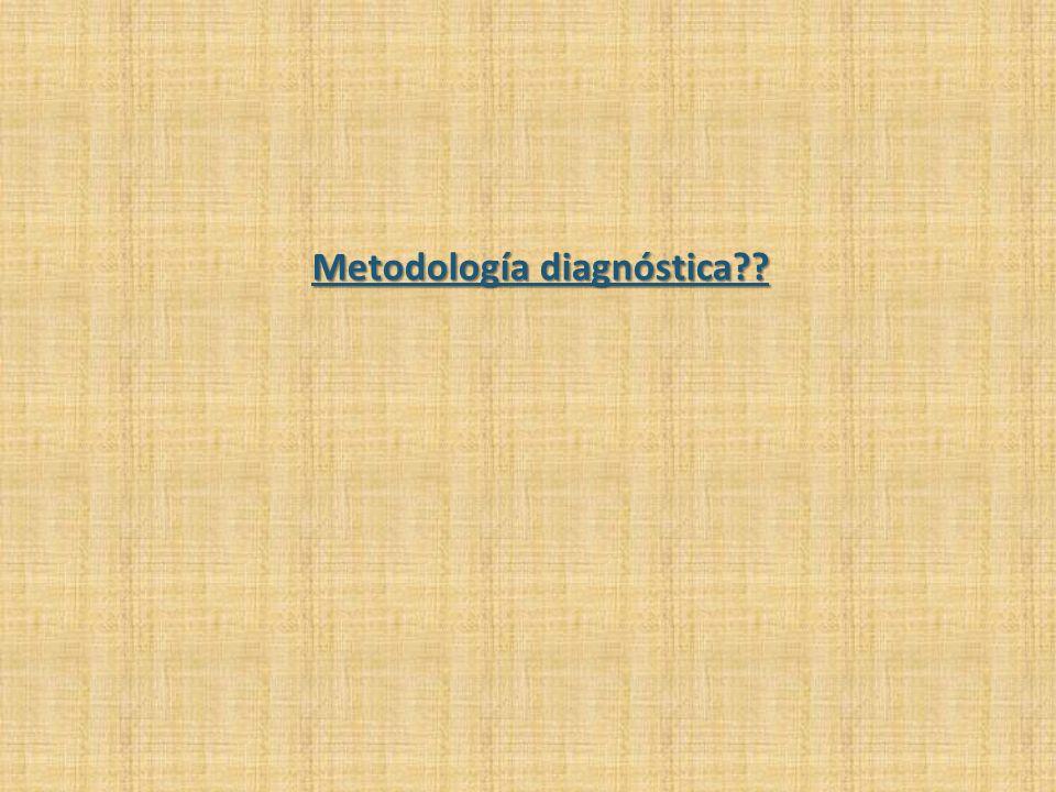 Metodología diagnóstica