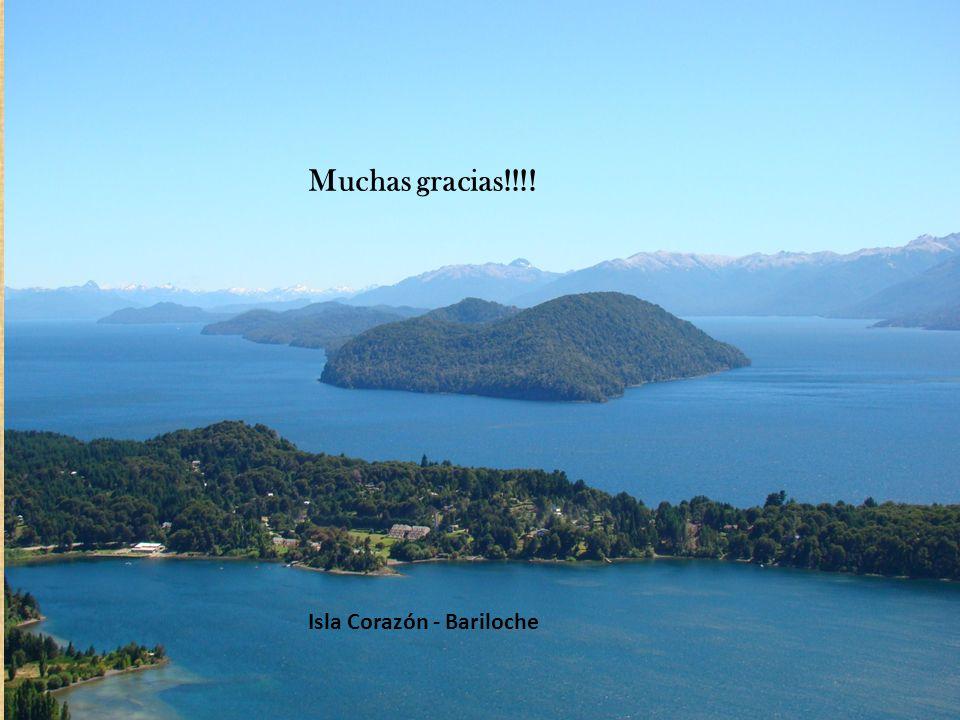 Muchas gracias!!!! Isla Corazón - Bariloche