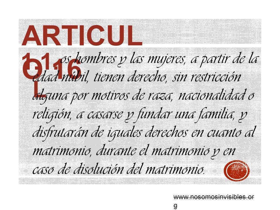 ARTICULO 16 1.1. L.